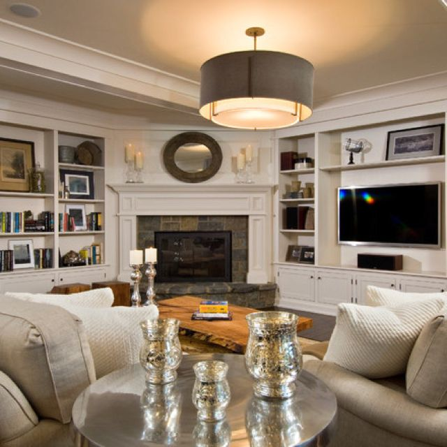 Setting Up A Living Room With A Corner Fireplace: Seriously Thinking About Reconfiguring The Orientation Of