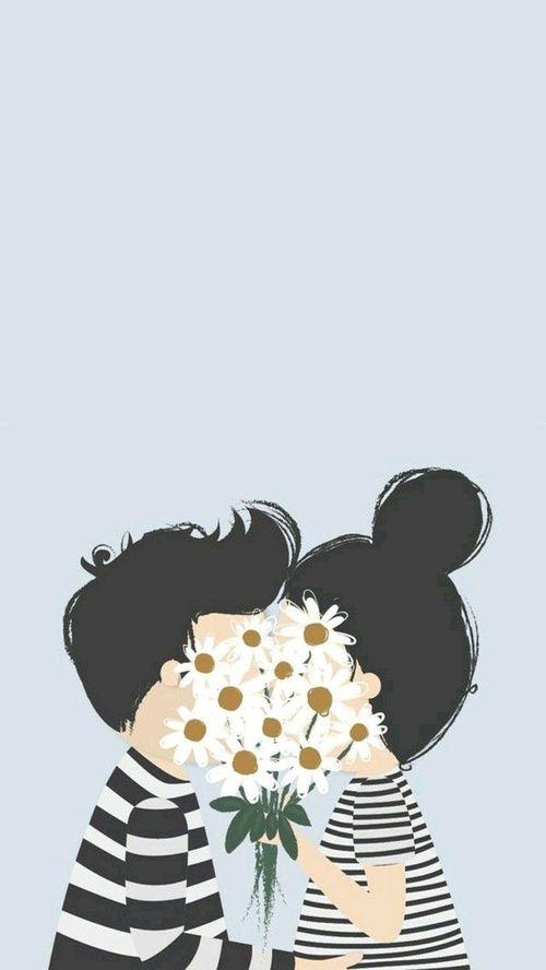 Top Imagem de love, flowers, and couple | Wallpapers | Pinterest  ER31