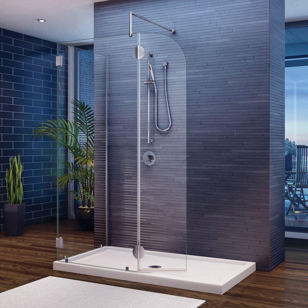 Fleurco Shower Door Walk-In Shower System Evolution 4\' and 5 ...