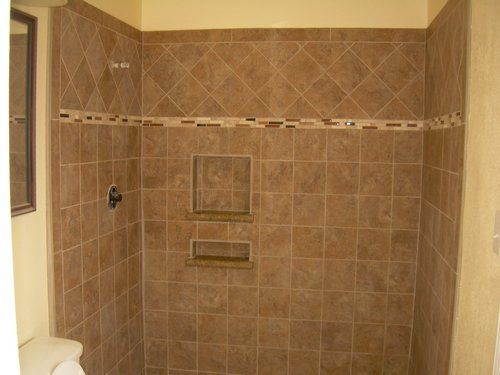 Charming Master Bath New Tile, Shower Walls, And Floors.JPG