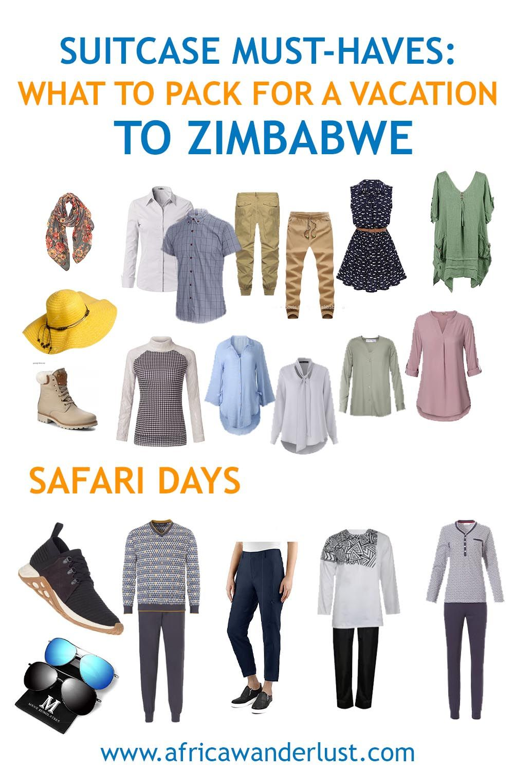 1 Zimbabwe Travel Ultimate Packing List You Ll Need In 2020