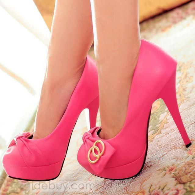 Platform High Heels Office Lady Shoes