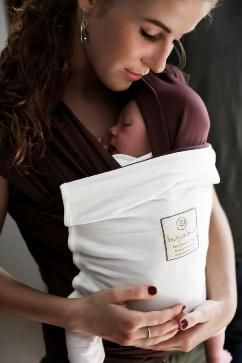 Hug A Bub Chocolate Wrap With Vanilla Pocket Made With 100 Organic