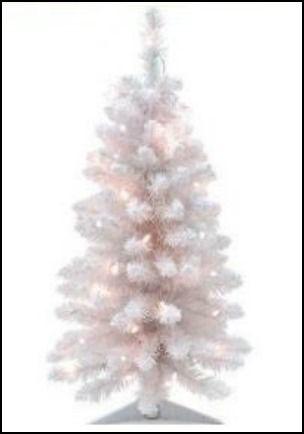 best small white artificial christmas tree - White Fake Christmas Tree