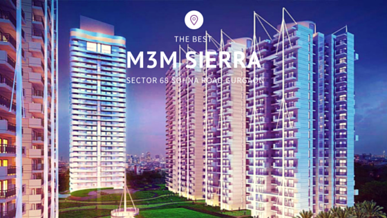 M3M Sierra has 2BHK and 2BHK+Study apartments with size option of 1200 sqft to 1450Sqft. for details visit http://www.m3msierraa.in/