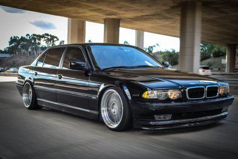 740il Series Alpina   2001 BMW 740IL BLACK 95K MILES slammed. Clean ...