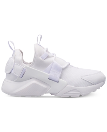 c4a7b230b4d1 Nike Women s Air Huarache City Low Casual Sneakers from Finish Line - White  6