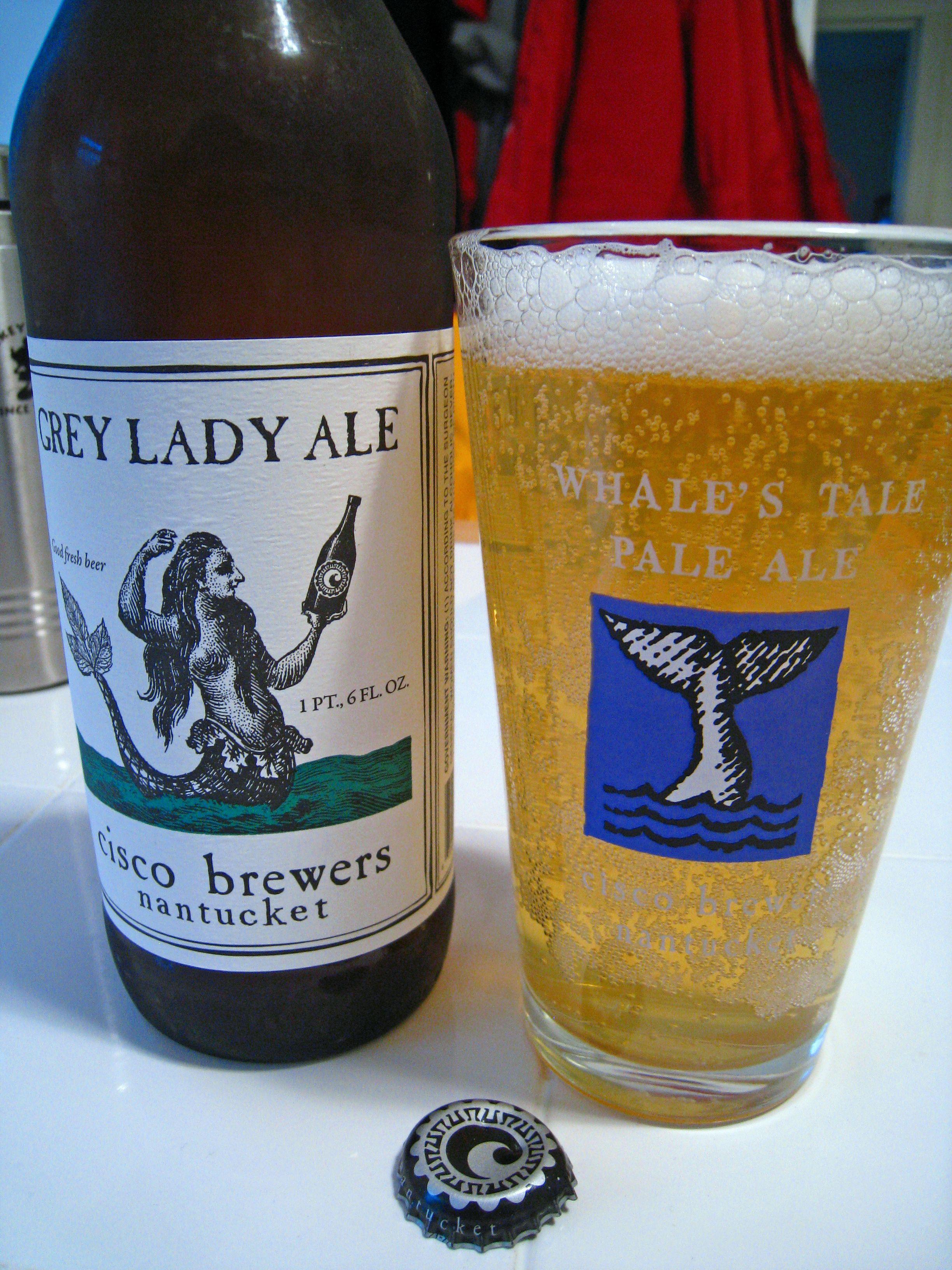 Cisco brewers grey lady a slightly tart witbier im