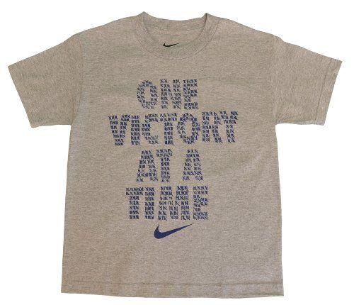 Nike Boys One Victory Shirt Gray Clothing Impulse Basketball