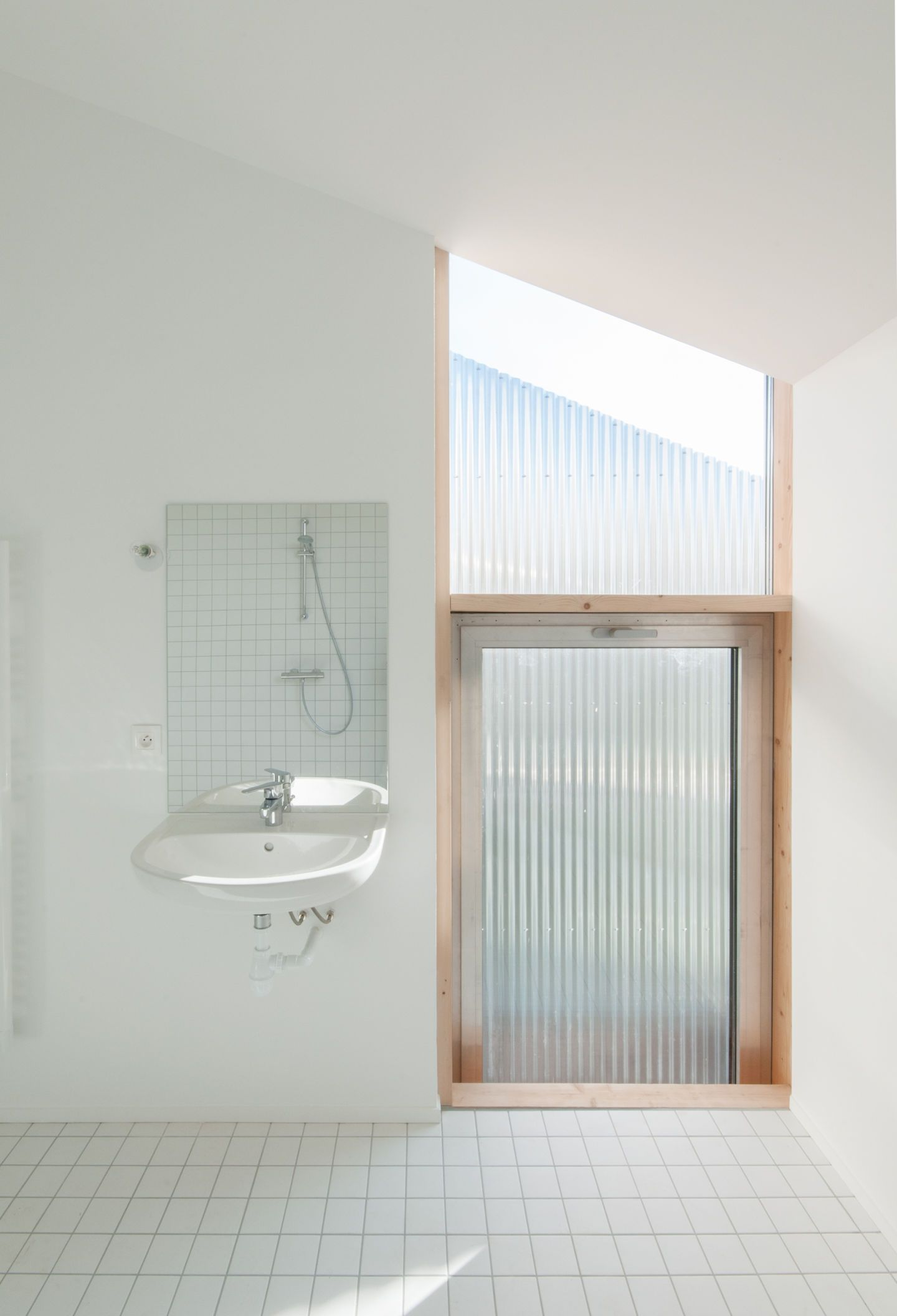 Merging Elderly Housing In A Village And Some More Contemporary Enchanting Bathroom Design For Elderly Design Ideas