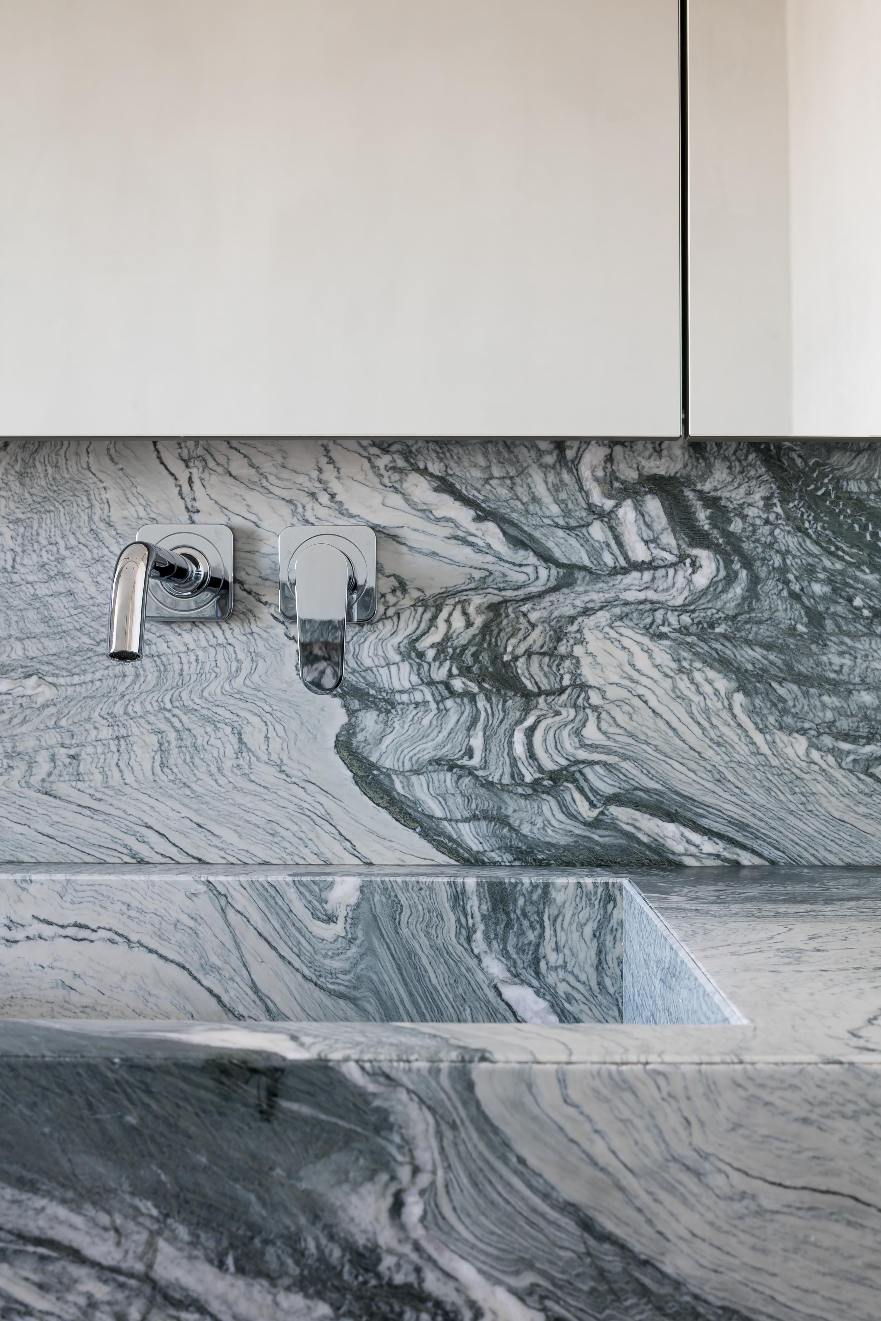 "Verde Saint Laurant ""architect: Merijn Degraeve"" – Graniet & marmer ..."