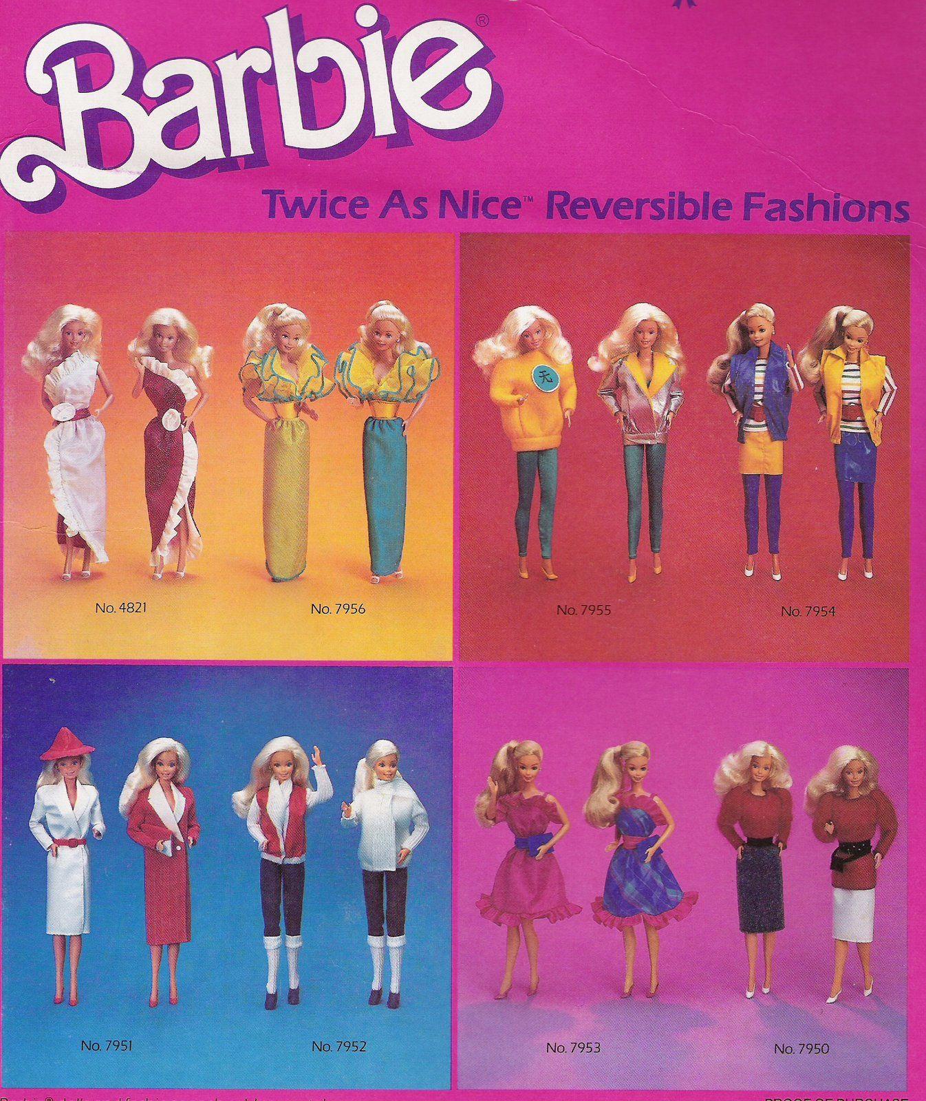 "Barbie V's Jem: Barbie ""Twice As Nice"" Fashions"