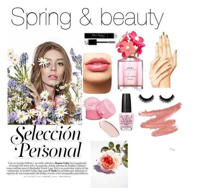 """Spring and beauty"" by fashionbug290 on Polyvore featuring beauty, Christian Dior, LASplash, Elizabeth Arden, Marc Jacobs and OPI"