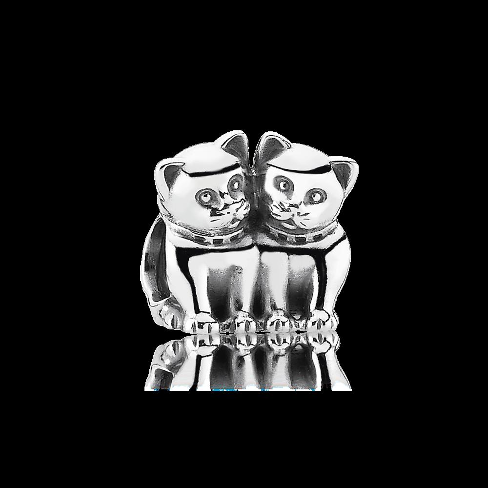 PANDORA | Purrfect together | Animal charms, Pandora jewelry ...