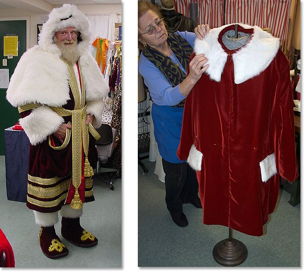 Seriously High End Custom Santa Claus Suits Santa Suits Santa