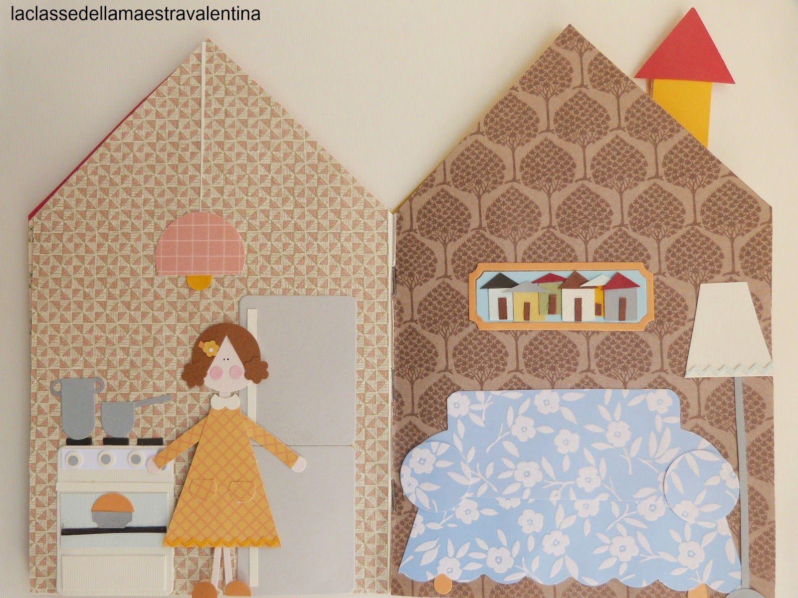 La classe della maestra Valentina: casette di carta