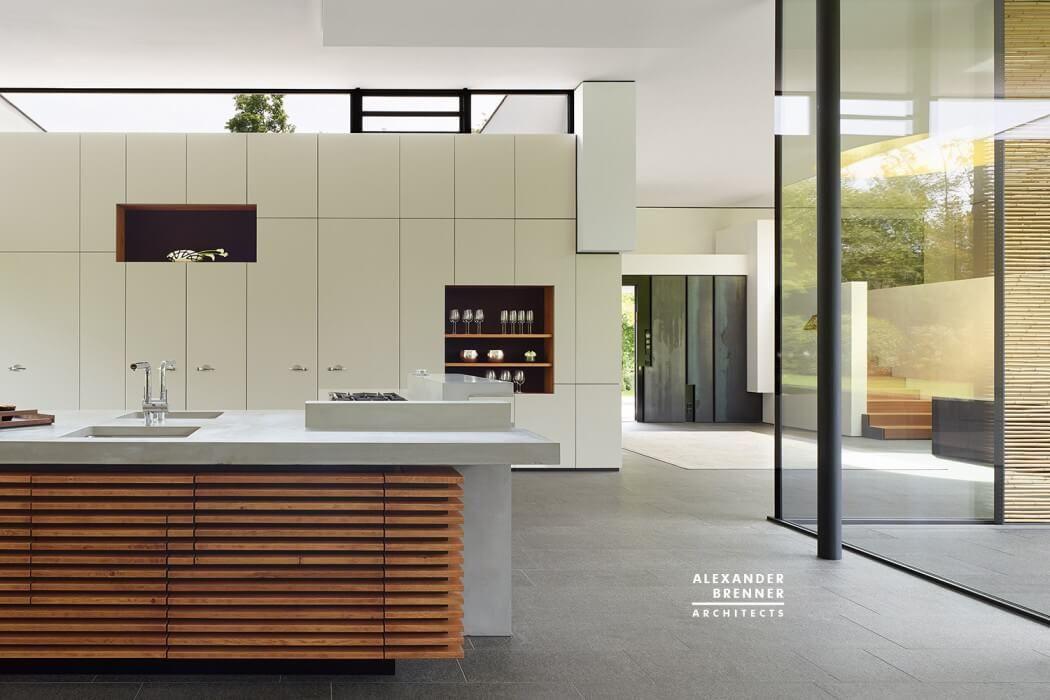 designer kuche kalea cesar arredamenti harmonischen farbtonen, bredeney house by alexander brenner architects | möbel - regale, Design ideen