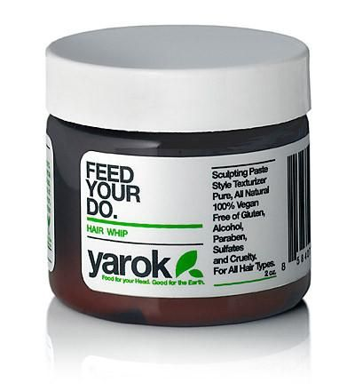 Our Styling Whip from Yarok is a great natural sculpting paste and style texturizer. Made of all natural, pure and organic botanicals,