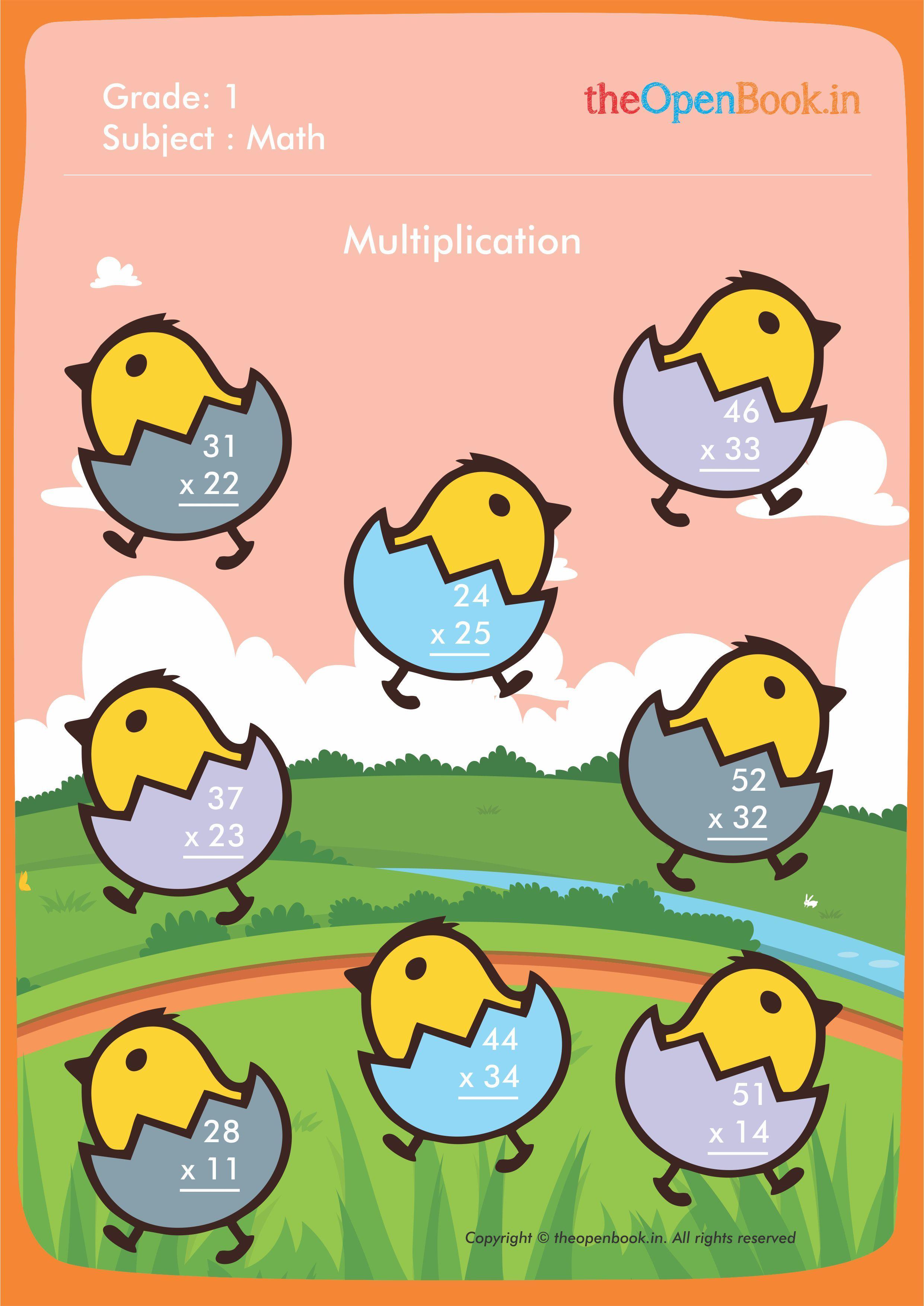 Theopenbook Create Free Multiplication Printable School
