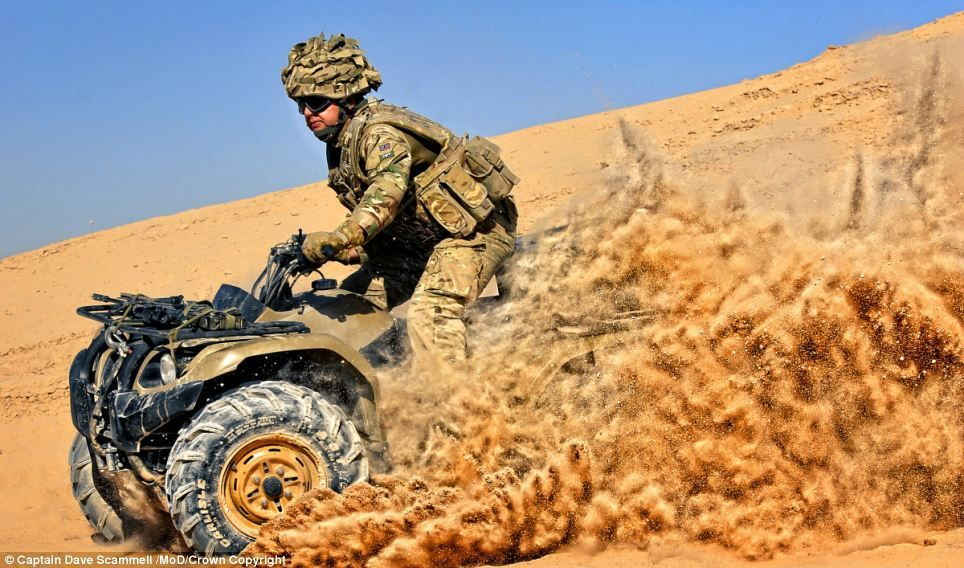 Beyond the front line Unseen world of our fighting men and women