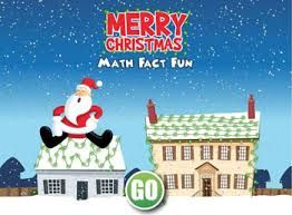 Merry Christmas Math Fact Fun Add Subtract Multiply And Divide Kids Can Choose Can Be Used Grades 1 5 Holiday Math Math Facts Christmas Math
