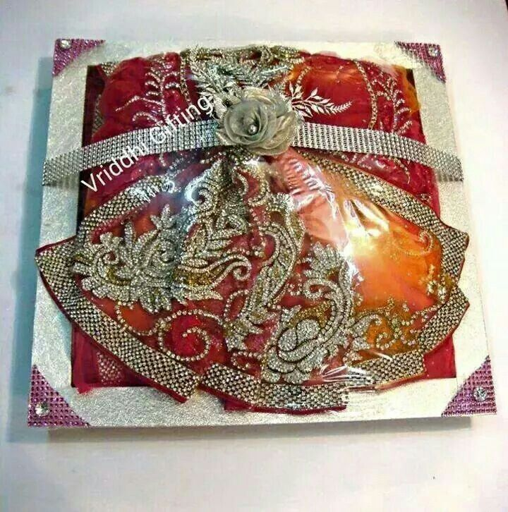 Nice Gift Wrapping Saree Ideas Part - 9: Indian Wedding Trousseau Gift Packing.