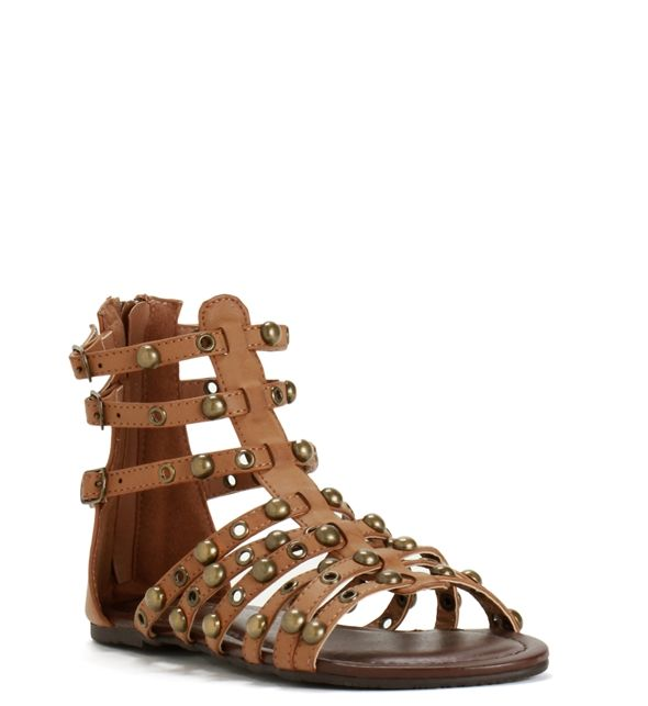 Tan Gladiator Princess Sandals