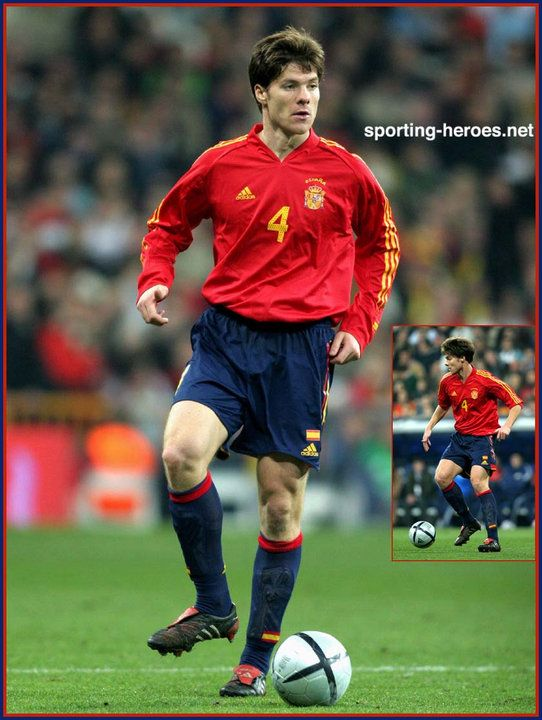 94262786bcea Xabi Alonso Spain 2004 | 3 stripes /// | Adidas predator, Adidas ...