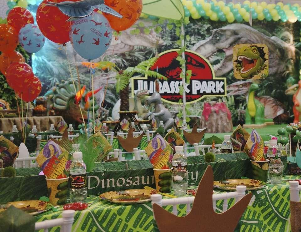 Dinosaurs Birthday Jurassic Park