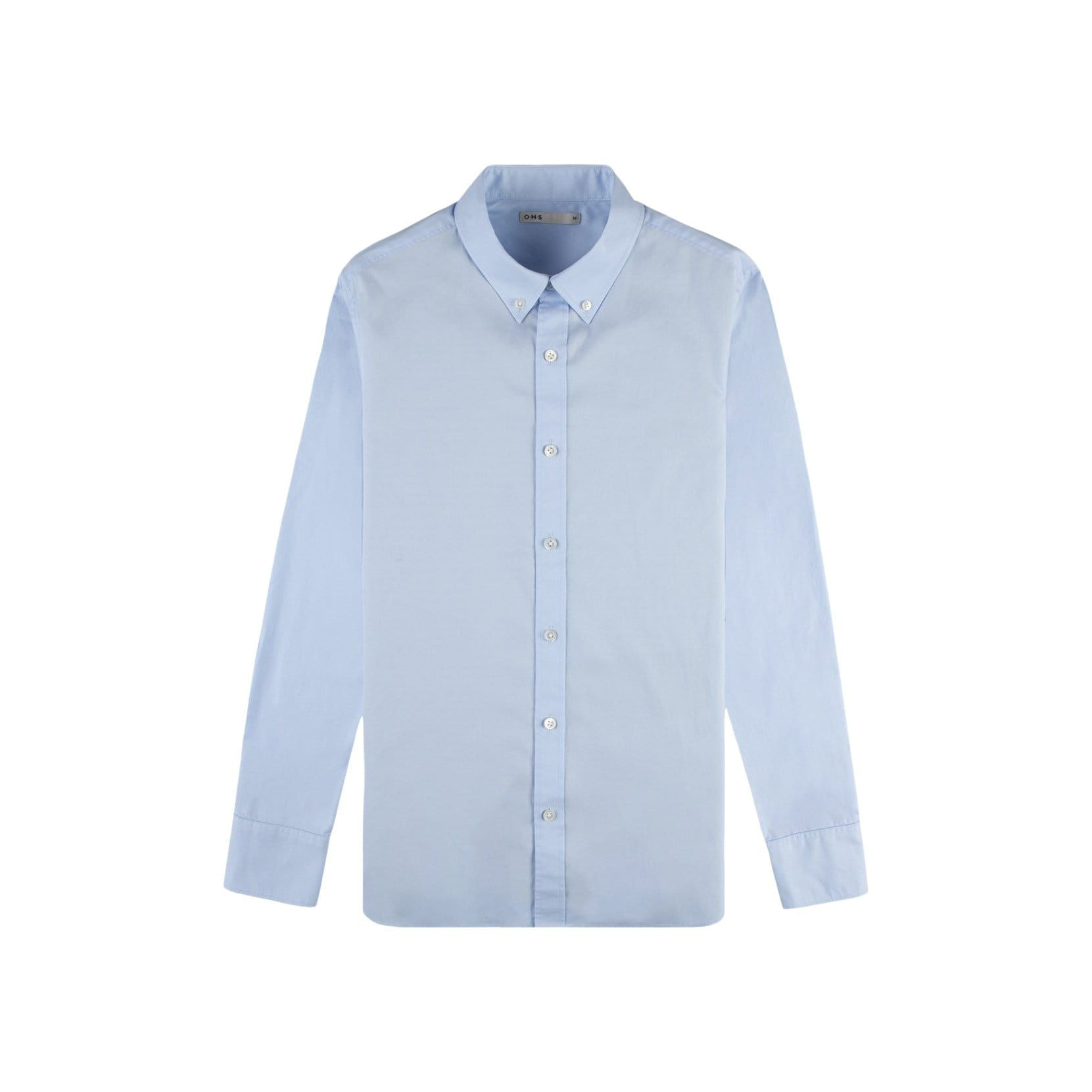 Pinpoint Oxford is made from finer yarn and has a tighter weave than plain Oxford cloth which gives this shirt greater durability that one can expect to find with O.N.S. It's tailored fit is slim, but not too slim, and comes prewashed for additional softness. This timeless shirt is the ultimate layering piece to add to your closet. Tailored Fit Materials: 100% Cotton Oxford Care Instructions: Garment wash cold and gentle with like colors