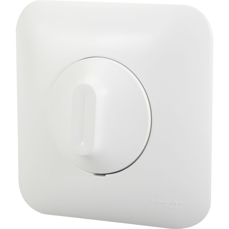 variateur blanc encastrer lectricit domotique. Black Bedroom Furniture Sets. Home Design Ideas