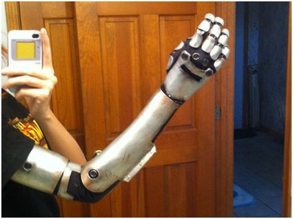 How To Make Cyborg Arms For Your Cosplay Here Are 5 Ways Cosplay Tutorial Cosplay Diy Foam Cosplay