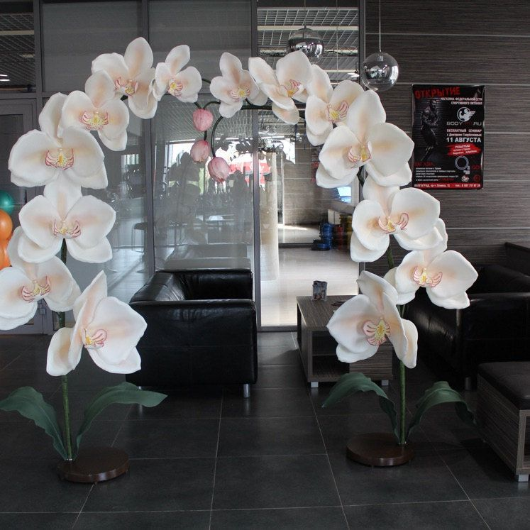 Giant Paper Flower-Foam flowers-orchid-giant flowers-Premium Quality flowers-Luxury foam Flowers-Blue Orchid