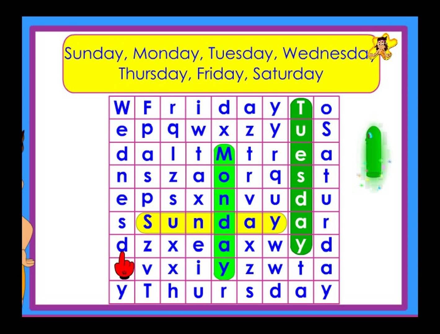 worksheet General Knowledge Worksheets For Kindergarten days of the week worksheet kindergarten general knowledge to identify days