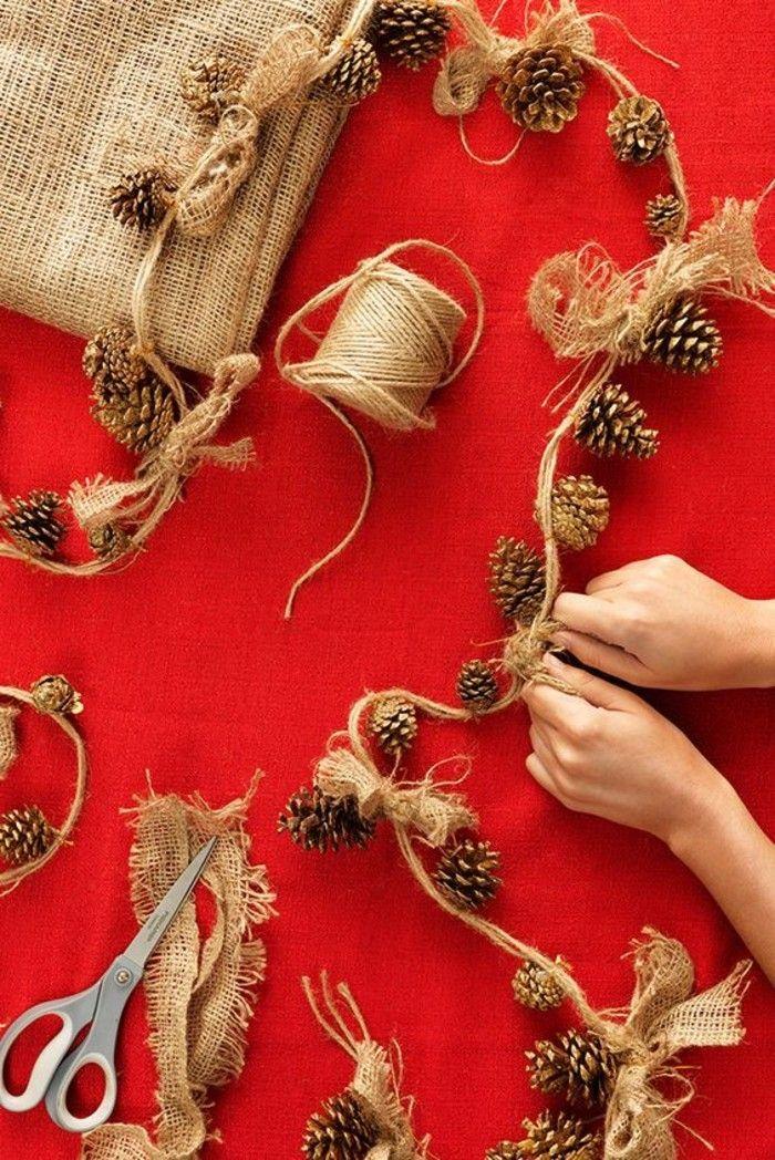 Weihnachtsdekoration selber machen - Ideen und Vorschläge #weihnachtsbastelnnaturmaterialien