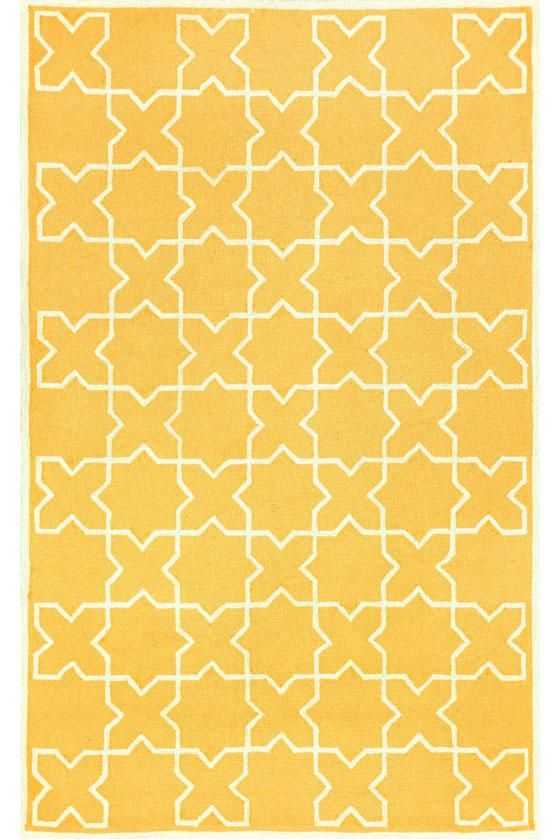 """Moroccan Area Rug - Yellow - 5'x7'6"""" - $309 - Synthetic Rugs - Area Rugs - Rugs 