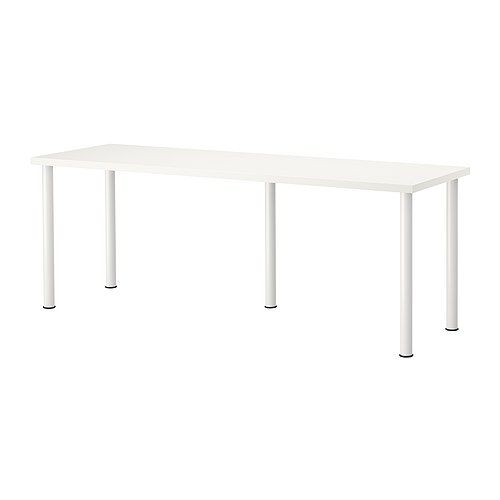 Ikea 2 Together For A: Two IKEA Vika Amon Tables Pushed Together Would Make A