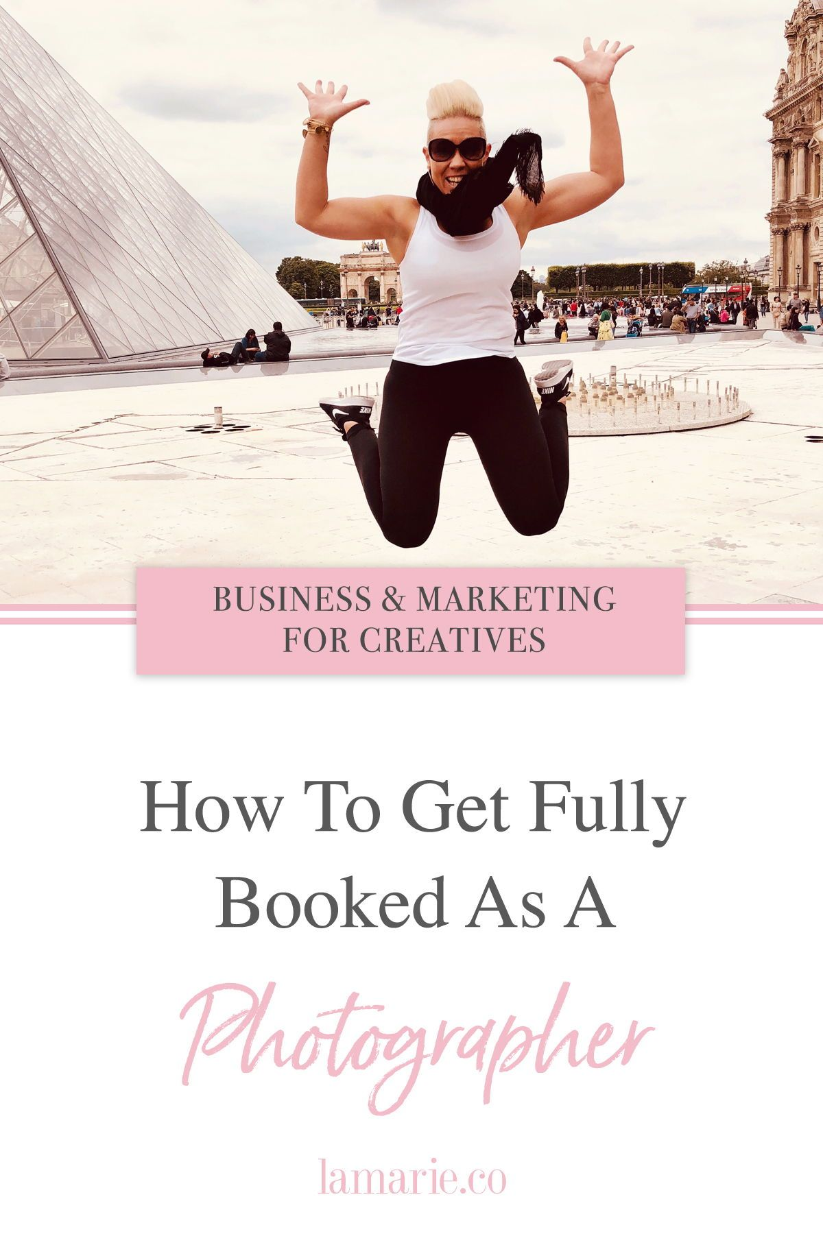 VIDEO} How to get fully booked as a photographer  Top tips