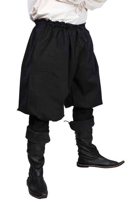 Remis en stock / Back in stock: Pantalon noir ample médiéval viking pirate  Prix: 39.90 #new #nouveau #japanattitude #pants #pantalons #medieval