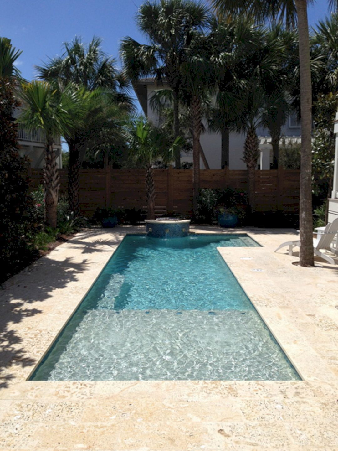Top Tips To Design A Small Pool For A Family Of Four Small Pool Design Small Backyard Pools Small Swimming Pools