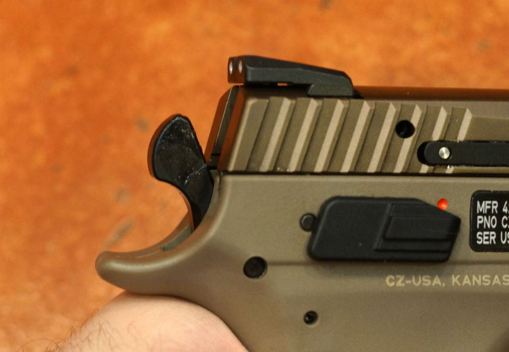Obscure Object of Desire: CZ P-09 Modular Handgun System