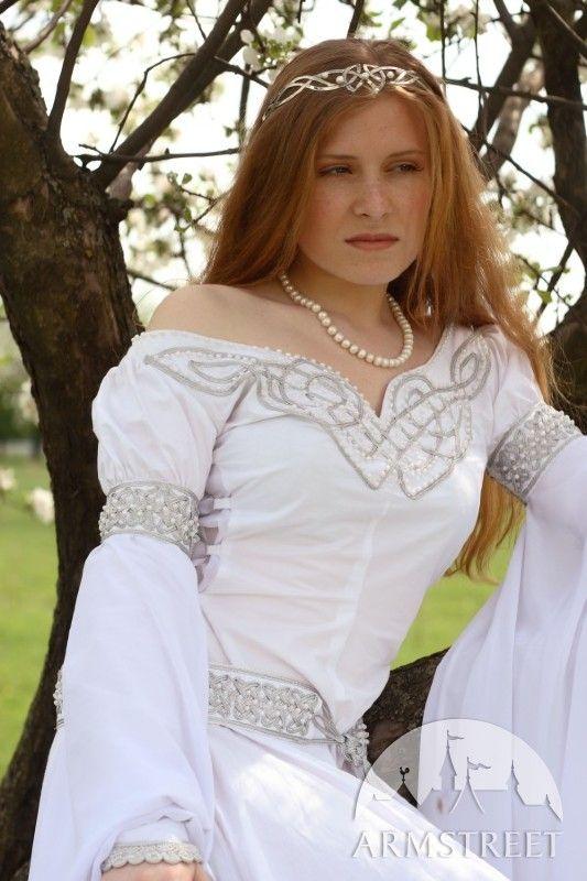 """Mittelalter Kleid Für Hochzeit """"Isolde""""   Kleid für hochzeit ..."""