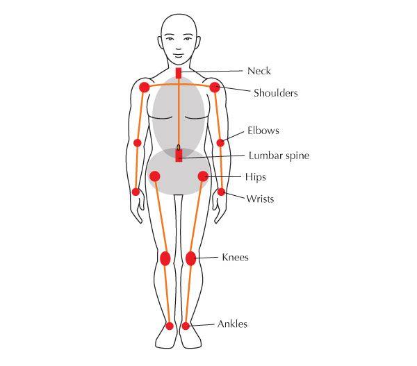 The joints | The Stick Figure | Pinterest | Yoga teacher, Physical ...