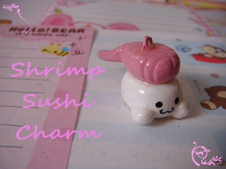 Shrimp Sushi Charm by ~AikurushiiDoku on deviantART