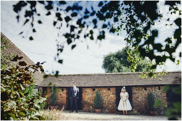 Quirky Wedding Photos From Priory Barn In Hertfordshire