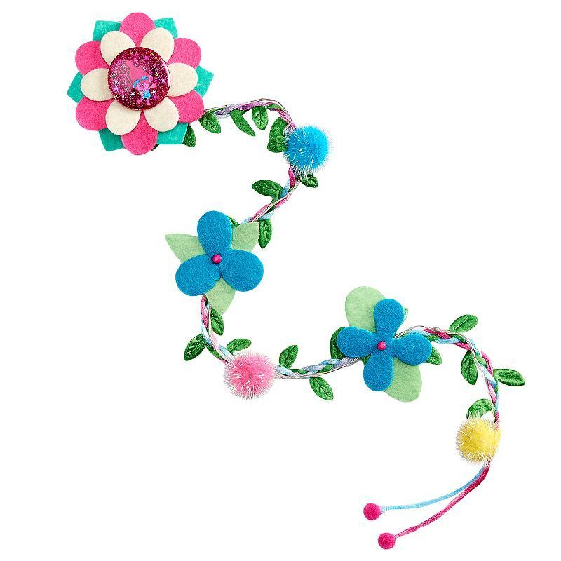 Girls 4-16 DreamWorks Trolls Poppy Light-Up Hair Extension, Girl's, Multicolor