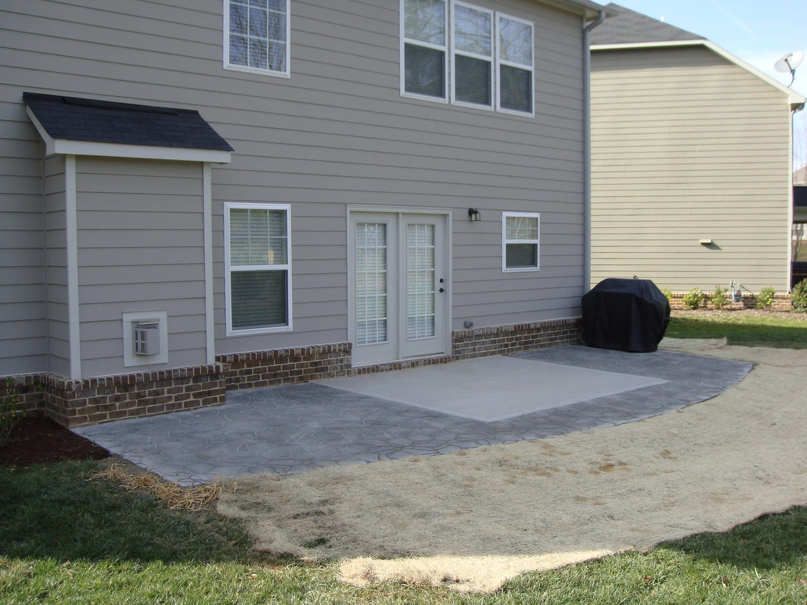 Prepossessing Extend Patio Deck Painting Backyard Or Other ... on Backyard Patio Extension id=20784