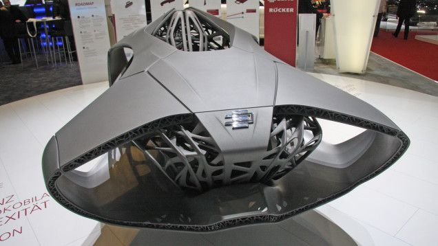 Jalopnik has an awesome look at 3D printing and the future of automaking.