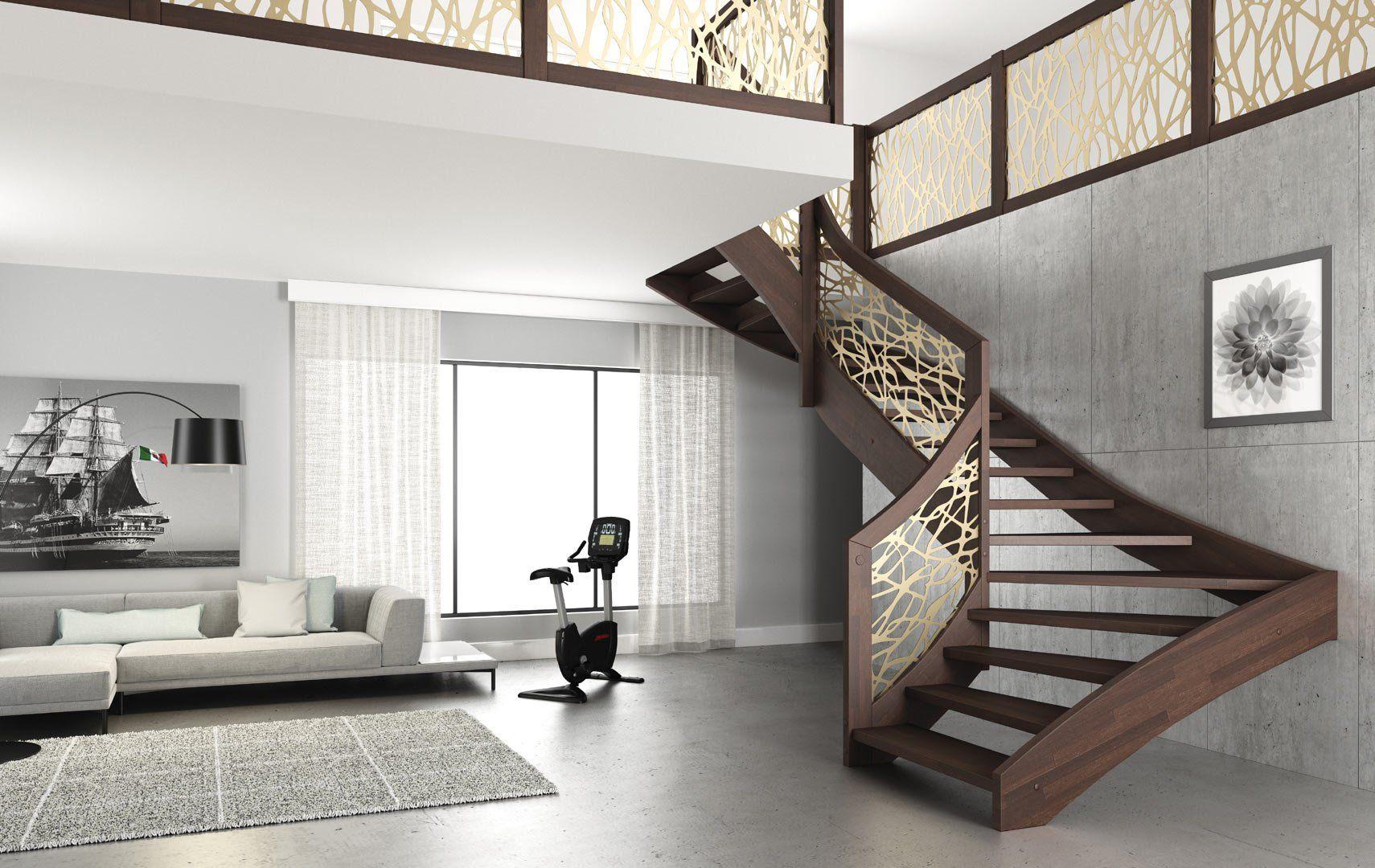 Best ᐅ Esperia Scale Interne Moderne In Legno Scegli I 400 x 300