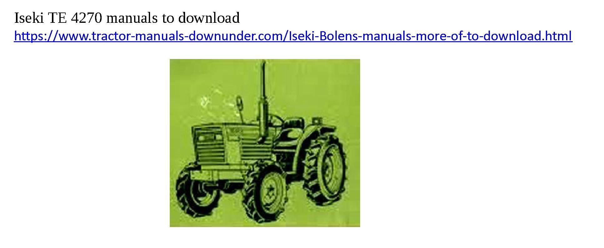 ... Array - download iseki tractor manuals here tractor manuals you can rh  pinterest com